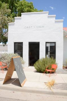 A well of inspiration found in the desert - Marfa H Design, Cafe Design, Store Design, Store Front Design, Retail Interior, Cafe Interior, Commercial Design, Commercial Interiors, Exterior Design