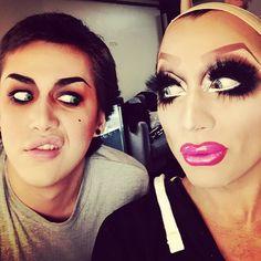 Adore Delano and Bianca Del Rio
