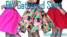 DIY Gathered Skirt {Sewing Tutorial}