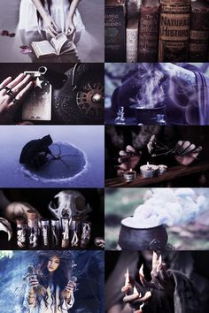 Magic and poison- witch aesthetic