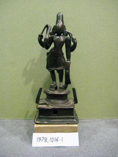 Figure (Virabhadra). Made of bronze.