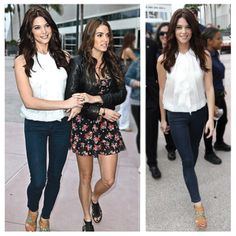 Twilight beauties Nikki Reed and Ashley Greene, wearing James Jeans, stun in San Diego. Click to steal her style!