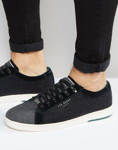 Shop Ted Baker Minem Wool Trainers at ASOS. Foot Pads, Superga, Ted Baker, Fashion Online, Trainers, Asos, Sneakers, Tennis, Tennis