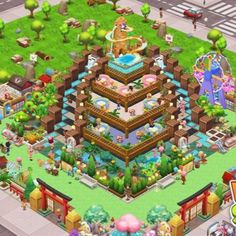 Food Street Game, Hay Day, Restaurant Design, Game Design, Layout, Games, Beautiful, Ideas, Creativity