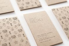 Touch of Reiki by Vibeke Illevold, via Behance