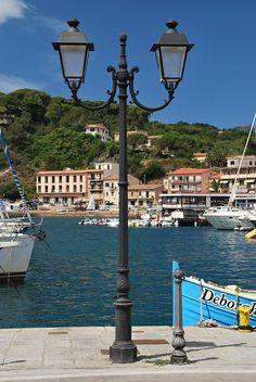 Porto Azzurro, Isola d'Elba, Tuscany, Italy