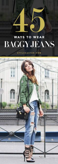 45 baggy jeans outfit ideas to copy  this Spring