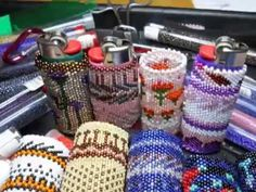 How To Read Even Count Tubular Peyote Patterns Bead A BIC Lighter by Beth Murr - YouTube