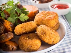 Homemade nuggets are a better choice than those from fast food products. Try out this recipe and you won't stop making them. South African Recipes, Ethnic Recipes, Homemade Chicken Nuggets, Dessert Recipes, Yummy Recipes, Desserts, Turkey Dishes, Savory Snacks, Food Inspiration