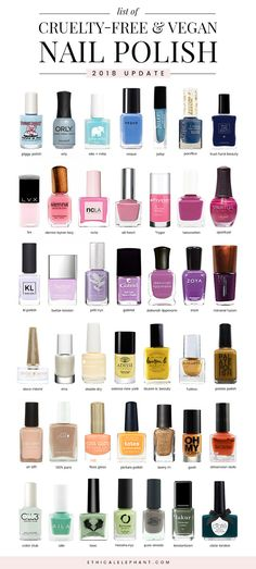 40 Cruelty Free and Vegan Nail Polish Brands Nail Polish nail polish ingredients Best Nail Polish Brands, Vegan Nail Polish, Red Nail Polish, Nail Polish Dupes, Nail Polishes, Makeup Brands, Makeup Products, Nail Care Products, Nail Polish Ingredients