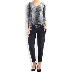Jersey Long Lauren Pant #catwalk