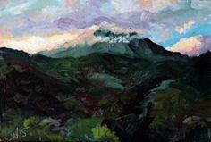 """Saatchi Art Artist James Needham; Painting, """"Volcan Arenal, Costa Rica"""" #art"""