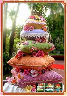 Colorful Wedding Cake 4