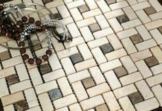 Mosaic Tile - Beautiful stone mosaic tile in square patterned made with light and dark coloured stones in matt finish for wall decoration Stone Mosaic Tile, Mosaic Wall Tiles, Mosaics, Pattern Making, Light In The Dark, Natural Stones, Wall Decor, Nova, Color