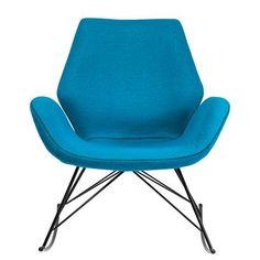 Fauteuil pluriel fran ois bauchet cinna mobilier - Fauteuil turquoise contemporain ...