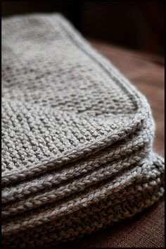 Knitted Garter Stitch Blanket In Sheepsdown : 1000+ images about Knitting - blankets on Pinterest Blankets, Knitted blank...