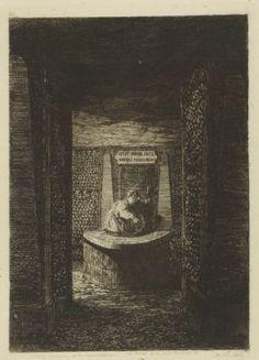 Catacombes : Fontaine de la Samaritaine
