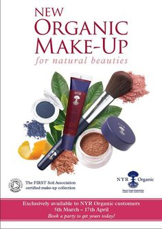 New organic, mineral make-up from NYR Organic - Neal's Yard Remedies