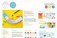 dibujos para imprimir mr printables Mr Printables, un recurso imprescindible para hacer actividades con niños
