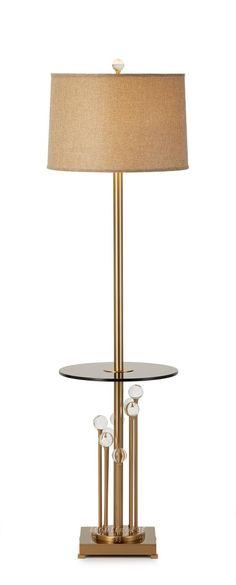 Modern American Angle of a few floor lamp【最灯饰】4月新品 现代美式样板房客厅书房水晶球角几落地灯