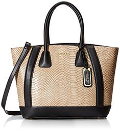 London Fog Heather Tote Bag ,Natural Snake ,One Size ** More info could be found at the image url.