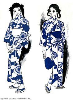 中原淳一デザイン「それいゆ・ゆかた」が復刻発売 - 御朱印帳やがま口財布などの小物も   ニュース - ファッションプレス