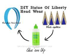 Statue of Liberty costume DIY