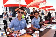 Rio Haryanto, Pascal Wehrlein, Manor Racing, Formule 1 Grand Prix van Bahrein 2016, Formule 1