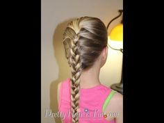 How to do a French Braid / Basic Hairstyles - YouTube