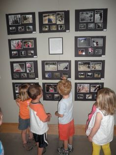 In the preschool classroom is important to have children's work or posters at children's eye level. In my classroom I will place different things at their eye level. Reggio Inspired Classrooms, Reggio Classroom, New Classroom, Preschool Classroom, Preschool Art, In Kindergarten, Classroom Ideas, Classroom Design, School Displays