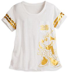 Minnie Mouse Varsity Tee for Women