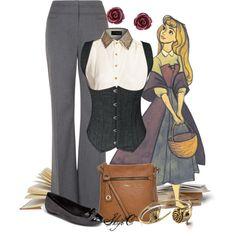 """Briar Rose - Back to School - Disney's Sleeping Beauty"" by rubytyra on Polyvore"