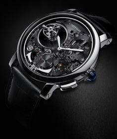 Cartier Répétition Minutes Double Tourbillon Mystérieux » La Revue des montres