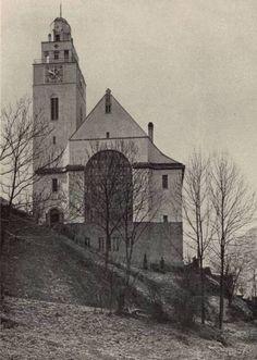 1915: ev. Stadtkirche, Oberndorf (Neckar) I Architekt: Martin Elsaesser