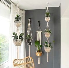 Rope Plant Hanger, Pot Hanger, Wall Hanger, Wall Hanging Shelves, Tapestry Wall Hanging, Wall Hangings, Hanging Planters, Indoor Hanging Baskets, Hanging Potted Plants