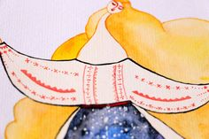 You Are My Sun and My Moon Romanian Folk Inspired - print available for sale by DeliaSopcaArt