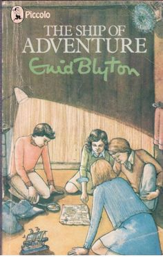 The Ship of Adventure by Enid Blyton  - S/Hand - Paperback