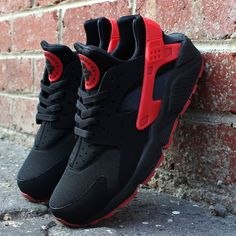 Air Huarache - Black/Red - Nike