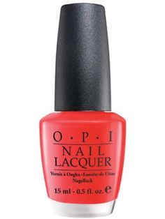 OPI Cajun Shrimp...wearing this on my toes today! Perfect springy coral color!