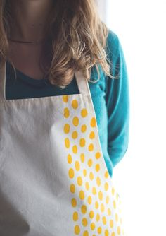 My first handmade apron by Serena Olivieri