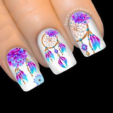 Gel Nail Designs You Should Try Out – Your Beautiful Nails Toe Nails, Pink Nails, Dream Catcher Nails, Country Nails, Feather Nails, Nail Water Decals, Gel Nail Art Designs, Finger Nail Art, Types Of Nails