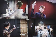 원본 이미지 Behind the Scene / 방탄소년단 멤버가 촬영이 끝나면 하는 것