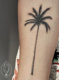 palm tree tattoo - Buscar con Google