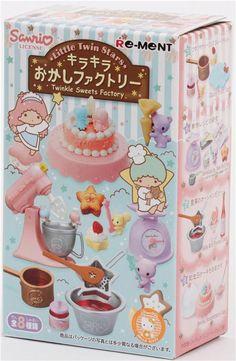 Re-Ment Little Twin Stars Twinkle Sweets Factory Miniature 2