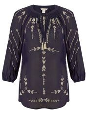 Emma Embroidered Top - Monsoon