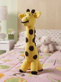 Start to Finish Your Giraffe - Complete Pattern + Video Tutorial, from The Crochet Crowd.  :)