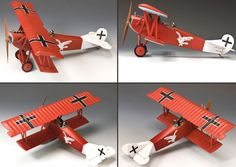 World War 1 German Army FW111 Fokker DVII LT. August Ruben Jasta 18 - Made by King and Country Military Miniatures and Models. Factory made, hand assembled, painted and boxed in a padded decorative box. Excellent gift for the enthusiast.