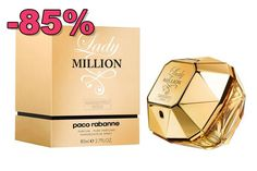 Lady million absolutely gold Paco Rabanne Parfum, Shops, Perfume, Lady, Gold, Tents, Retail, Fragrance