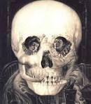 Girl - time/ skull?