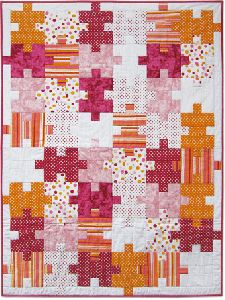 Quilt Patterns Free Quilt Patterns eQuiltPatterns.com: Connect the Dots Baby Quilt Pattern - Girl